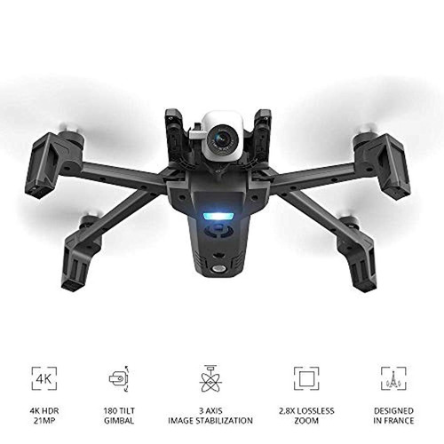 parrot - drone anafi extended - pack with 2 additional batte
