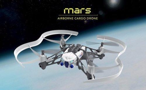 parrot minidrones airbone cargo mars  + despacho gratis