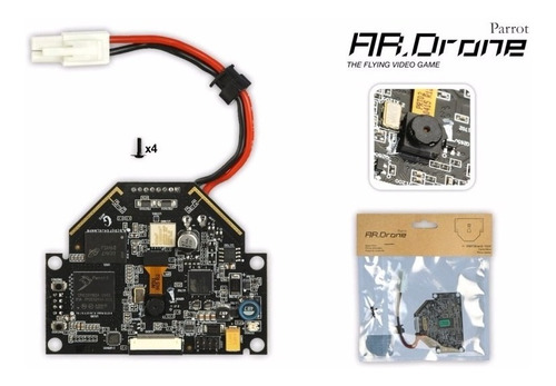 parrot placa base para ar.drone v-1