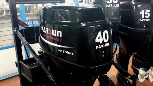 parsun 40hp electr + completo con caja de direccion y comand