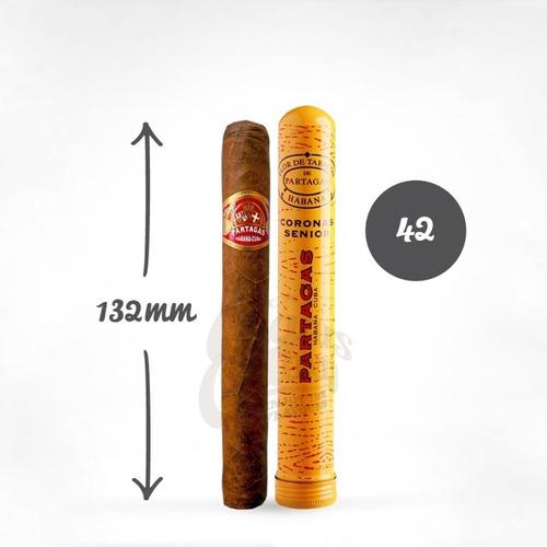 partagas corona senior habanos cubanos puros fumar x1