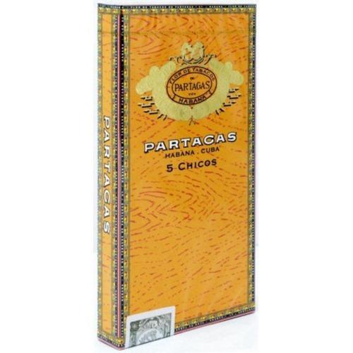 partagas habanos puritos chicos cigarros cubanos caja x5