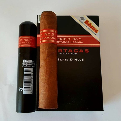 partagas serie d5 tubos fumar caja x3 habanos cubanos puros