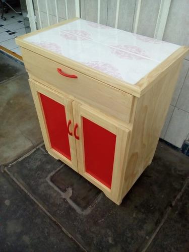 parte baja de repostero  con división y cajón ( nuevo )