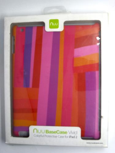 parte de atrás para ipad 2/3/4 nuu colores variados