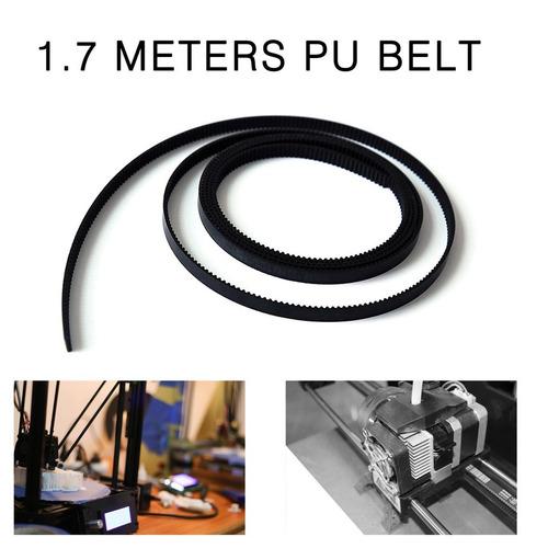 parte impressora 3d de 1.7m / lot gt2-6mm pu com a cinto cro