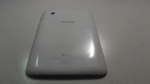 parte traseira tampa branca tablet samsung galaxy tab p3100