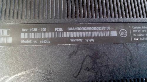 partes de hp 15-b142dx