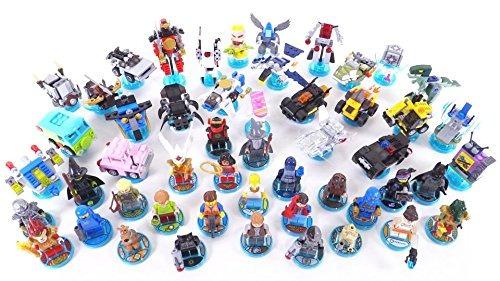 partes de lego: dimensiones toy tag 4 x 4 x 2/3 con 4 clavos