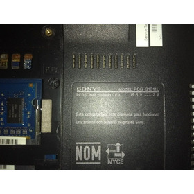 Partes Mini Computadora Sony Vaio Pcg 31311u
