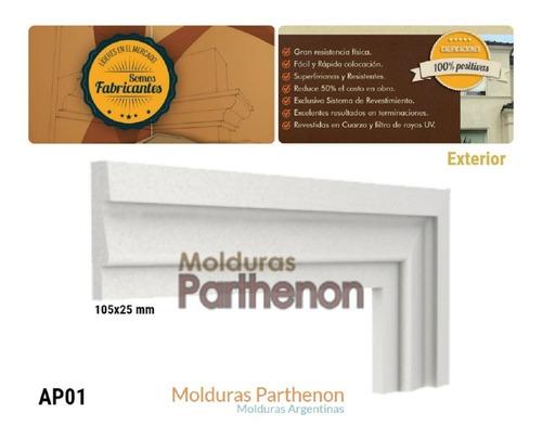 parthenon molduras para exterior ap01 duraderas directo fabr
