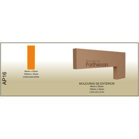 Parthenon Molduras Para Exterior Ap16 80 X 25 La Mejor Marca