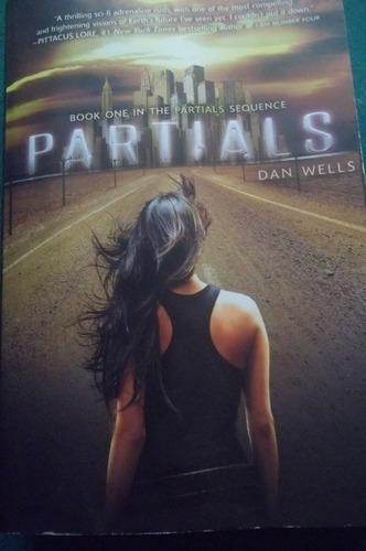 partials novela ingles - dan wells - importada