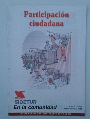 participación ciudadana sidetur