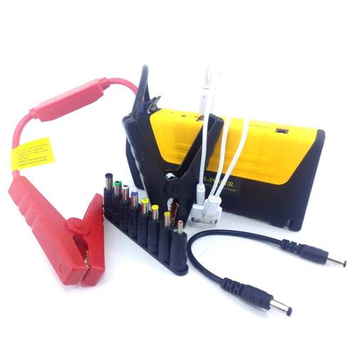 partida auxiliar carregador bateria carro 50800mah saída 12v
