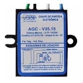 partida eletrônica agc v35.15 trapp 1,5 cv 110/220v