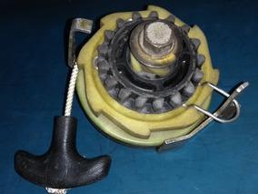 Partida Manual Motor Popa Johnson Evinrude 15 Antigo