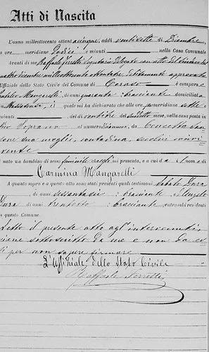 partidas de nacimiento italianas, ciudadadania o genealogia