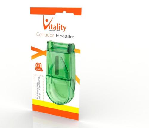 partidor de pastillas comprimidos vitality