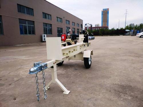 partidor leña diesel astillador remolque 42t 120cm fesal