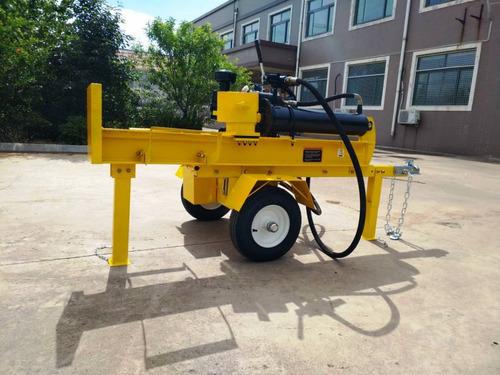 partidor leña diesel astillador remolque 42t 61cm fesal