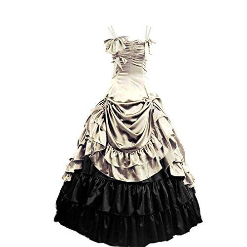 partiss mujer lolita clásico traje de lujo cosplay traje li