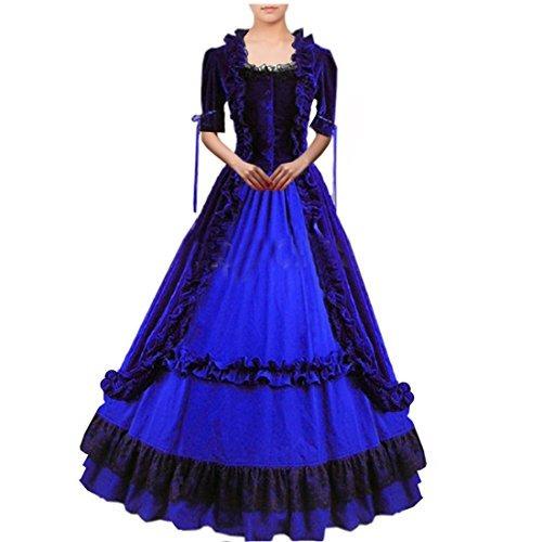 partiss mujer lolita clásico vestido de lujo cosplay traje