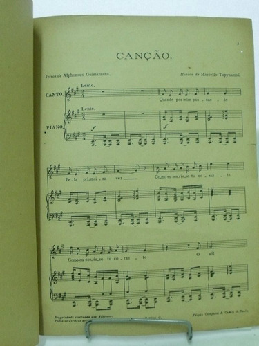partitura canções brasileiras marcello tupynamba