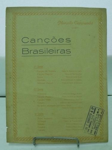 partitura canções brasileiras marcello tupynamba  pz8