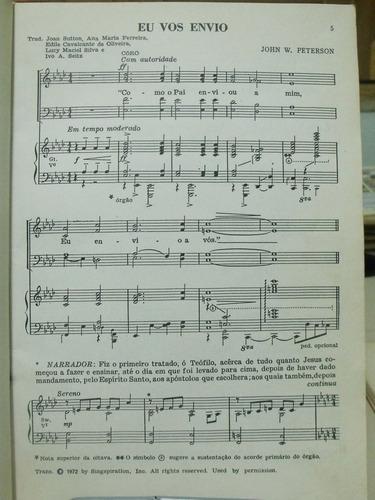 partitura eu vos envio john  peterson cantata missionaria l9