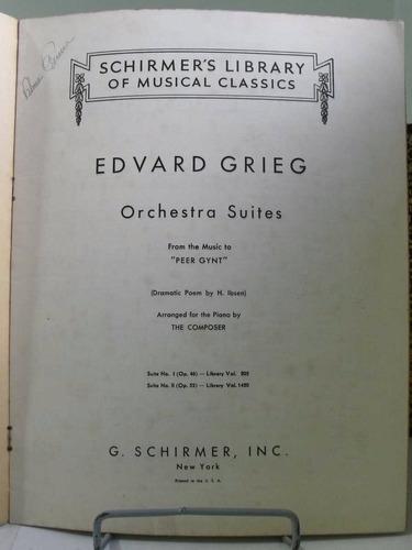 partitura grieg op46 peer gynt suite nº 1 piano  l6