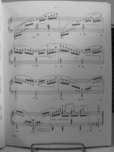 partitura liszt 12 études piano gallico d'execution l6
