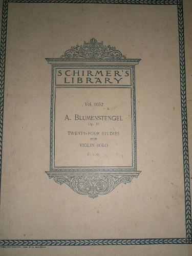 partitura para violin...a. blumenstengel