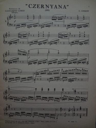 partitura piano  czernyana  3  c czerny