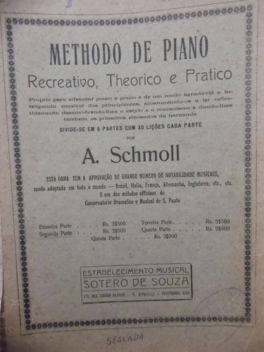 partitura piano  methodo de piano  a schmoll
