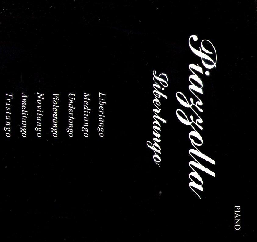 Partitura Piazzolla Libertango - Piano - $ 400,00
