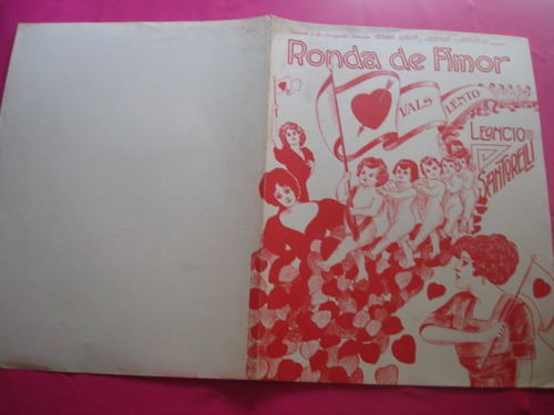 partitura - ronda de amor - vals lento - leoncio santorelli