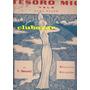 Partitura Piano Tesoro Mio Vals Musica Y Letra E. Becucci