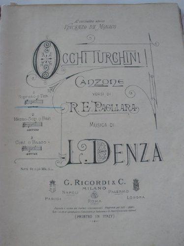 partituras antiguas, principios del siglo xx, valses, zarzue