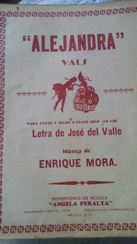 partituras antiguas vals danzas opera