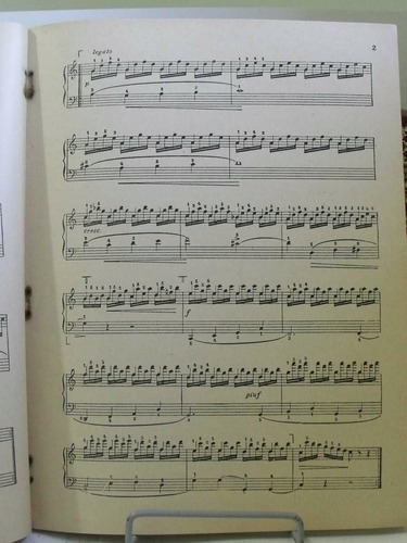 partituras carl czerny coletanea piano v 2 barrozo netto pz8