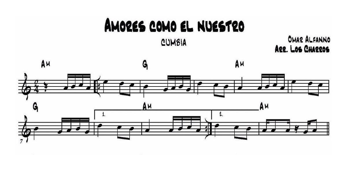 Partituras De Cumbia - Pedime La Que Necesites - $ 300,00