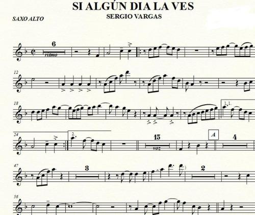 partituras de metales, bajo y piano: salsa,merengue y mas