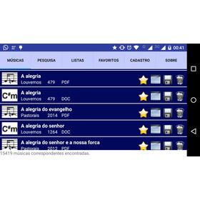 Partituras E Cifras Catolicas Android Licença De 12 Meses