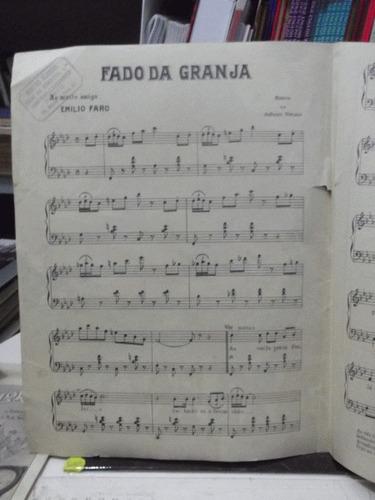 partituras - fado da granja - antonio menano  pz10