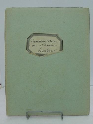 partituras loewe balladen album  bd i i i mittel  nº49