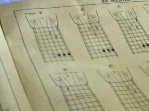 partituras método prático para violão - paraguassu
