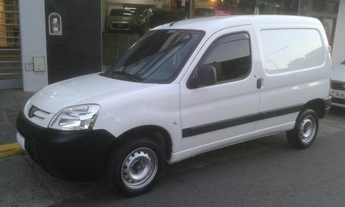 partner furgon 1.4  1plc 2012 con gnc 5g blanca alfombrada