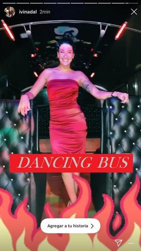 party bus tren de la alegria dancing bus despedidas