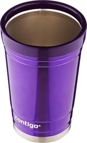 party cup cervecero vaso térmico 16 oz color morado